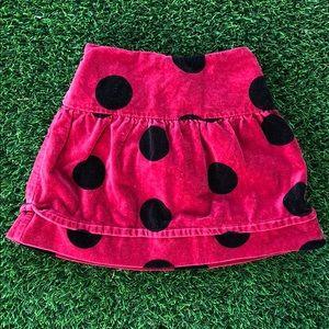 The Children's Place Soft velvet girls skirt